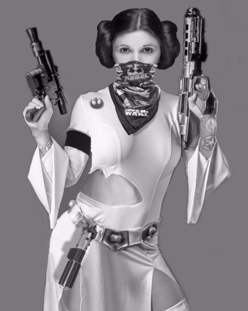 Princess Leia. The Rebel