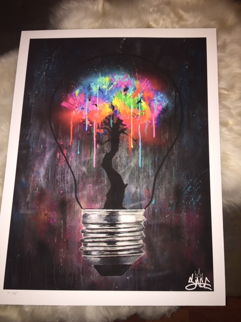 The Bright Idea Print